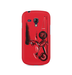 RED JET - Samsung S3 Mini 8190 | Mobile Cover