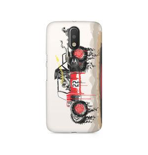 RED SANDER - Moto G4/G4 Plus | Mobile Cover