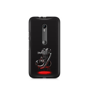RE Heart - Moto X Play | Mobile Cover