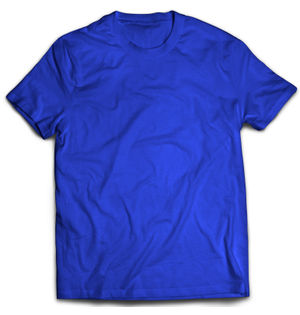 Classic Royal Blue Plain T-Shirt