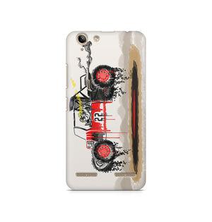Red Sander - Lenovo K5 Plus   Mobile Cover
