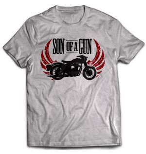 Son of a Gun - Grey | Tshirt