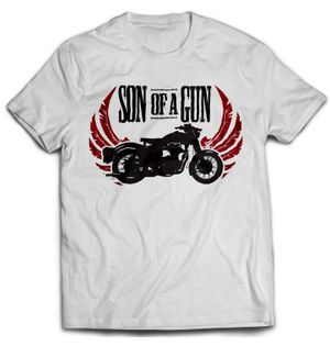 Son of a Gun - White | Tshirt