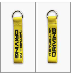 THRILL OF DRIVING | Keychain