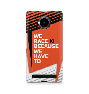 We Race Because We Have To - Micromax YU Yuphoria