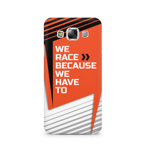 We Race Because We Have To - Samsung E5