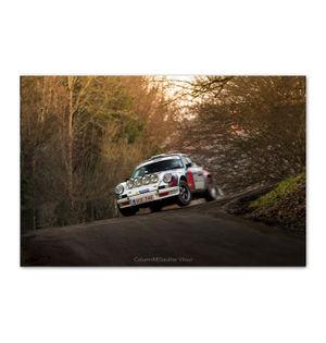 PORSCHE Rally Car