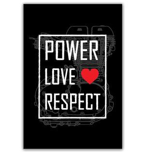 Power Love Respect | Poster