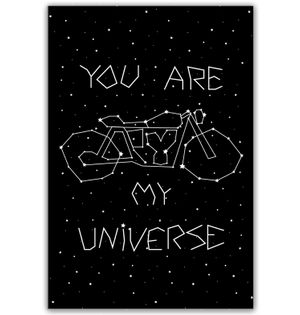 You are my Universe | Poster