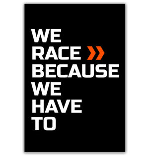 We Race >> | Poster