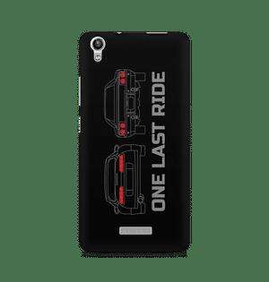 ONE LAST RIDE - Lava Pixel V1 | Mobile Cover
