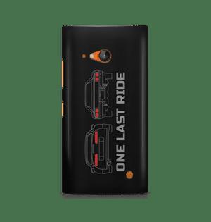 ONE LAST RIDE - Nokia Lumia 730 | Mobile Cover