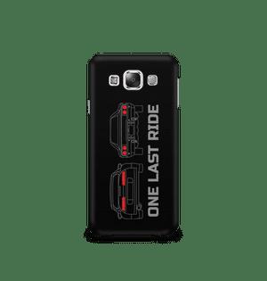 ONE LAST RIDE - Samsung E7 | Mobile Cover