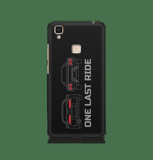 ONE LAST RIDE - Vivo V3 Max | Mobile Cover