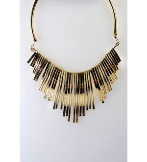Golden Alloy Necklace