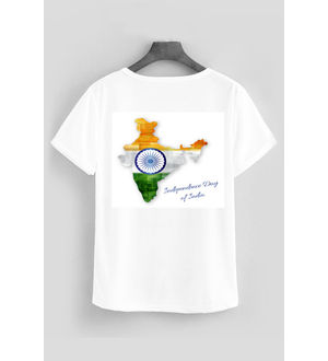SPORTS T- SHIRT MAP INDIA