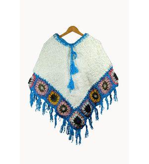 Stylish Warm YAK WOOL Handwoven Poncho