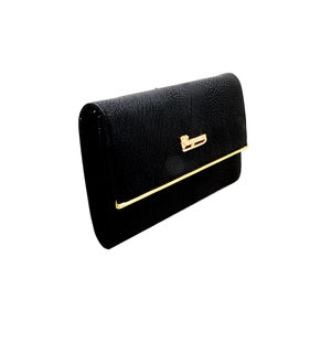 Eleegance Black Clutch Bag