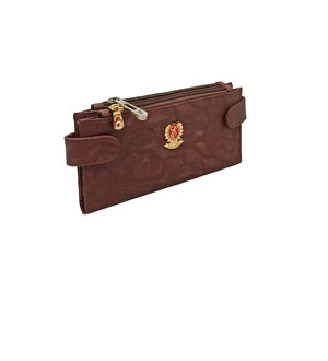 Eleegance Brown Clutch