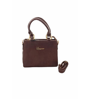 Eleegance Brown Color Handbag