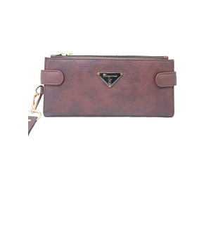 Eleegance Brown Long Women Wallet