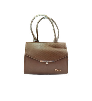Eleegance Peanut Brown Handbag