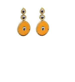 Golden Orange Dangler