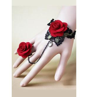 Handmade Rose Vintage Bracelet