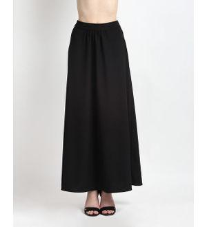 Reyon Cotton Black Heavy Skirt