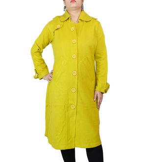 Woolen Mustard Kurta