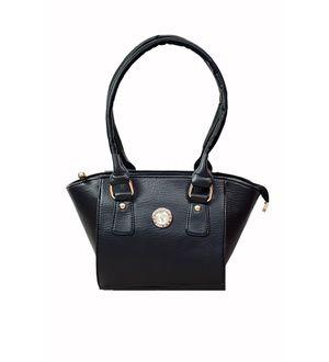 Trendy BLack Handbag From Elegance