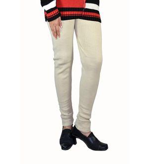 Beige color woolen Legging