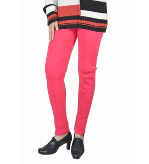 Magenta color woolen Legging