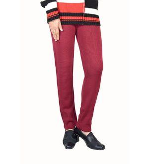 Maroon color woolen Legging