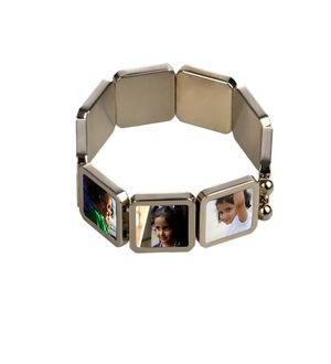 9 Image Personalised Stretchable Bracelet