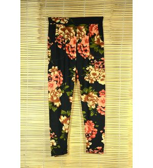 Multicolor Printed Legging