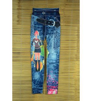 Stylish Barbie Print Legging