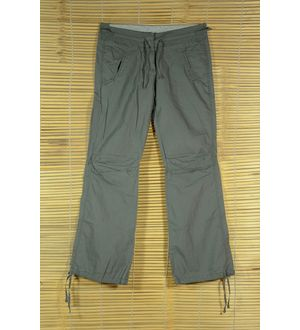 Grey Rollup Cargo Pants