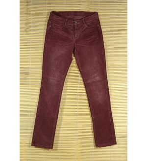 THINLINE CORDUROY MAROON Trouser