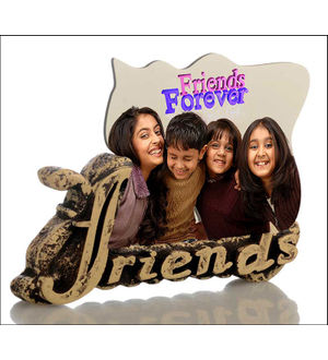 friends forever stone frame