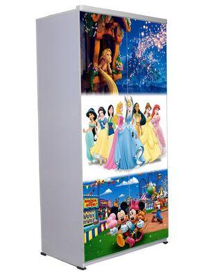 2 Door Wardrobe - Disney Combo