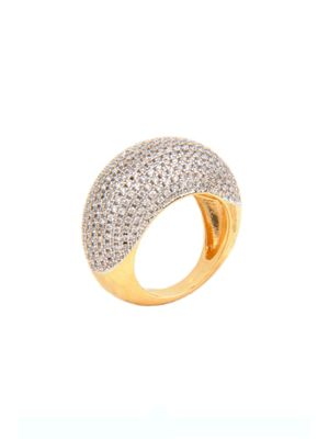 Gold Plated Eternal Zircon Ring