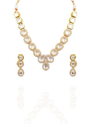 Uncut Kundan Necklace Set