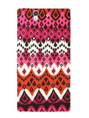 Pink pretty mobile cover