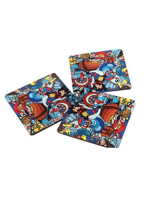 Sailor coaster set (Set of 4)