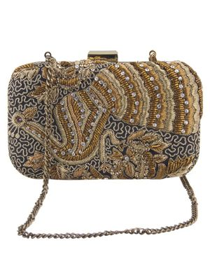 The Royal Peacock clutch