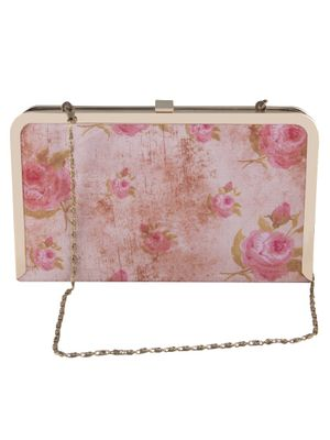 Red riding rose clutch