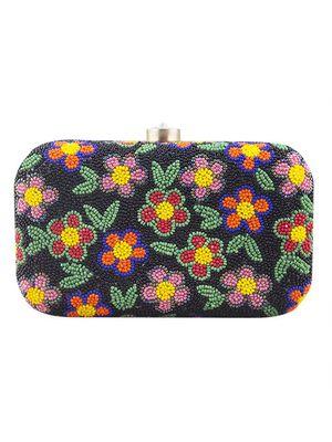 Flower mania clutch