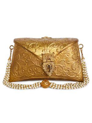 Gold antique bag