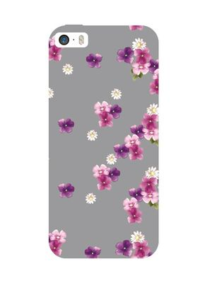Floral garden apple mobile cover